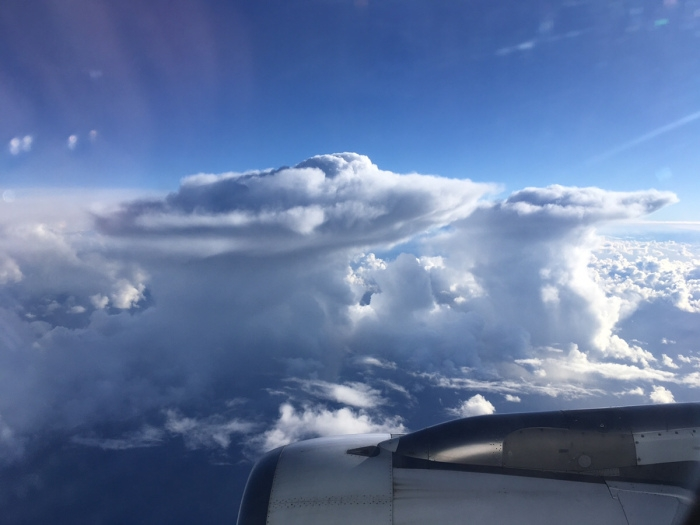 Wolkenformationen