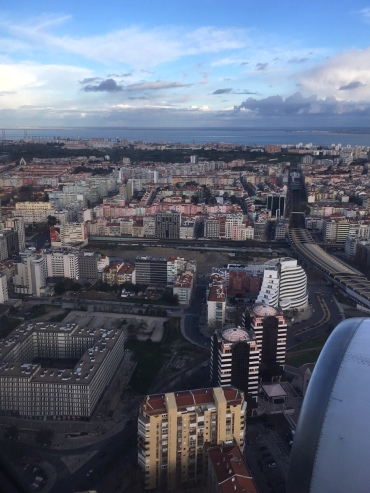 Lissabon von oben