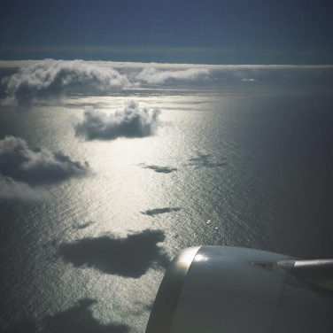 Atlantik von oben