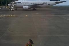 Flughafen Vorfeld