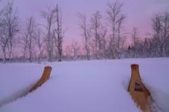 Skitour in Schwedisch Lappland