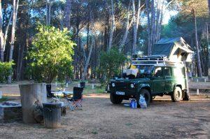 Campingplatz Stellenbosch