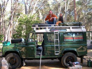 Camping in Stellenbosch