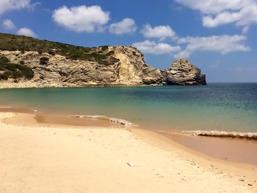 Strand, Steilküste, Algarve, Portugal