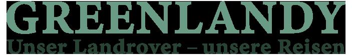 Logo, Schriftzug greenlandy