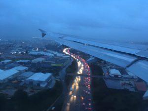 Lissabon im Anflug