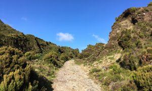 Wanderweg zum Lagoa do Fogo
